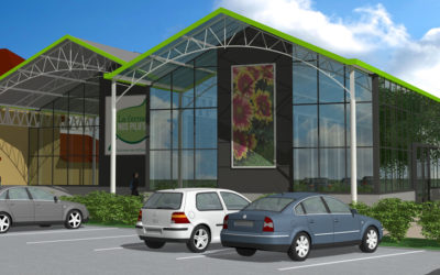 Nieuw tuincentrum